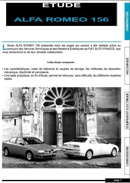 Alfa Romeo 156 Service Manual by Larry