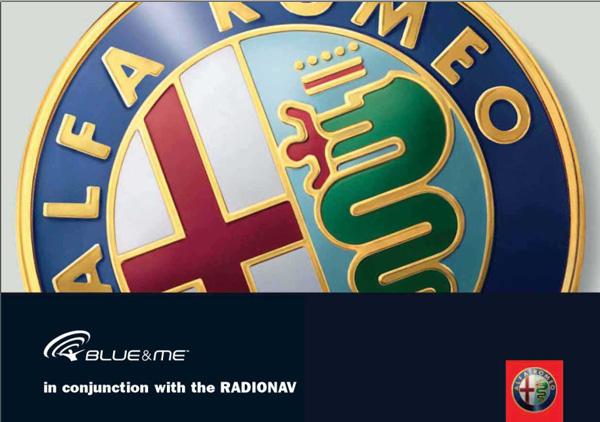 Alfa Romeo 159 Blue&Me Radionav
