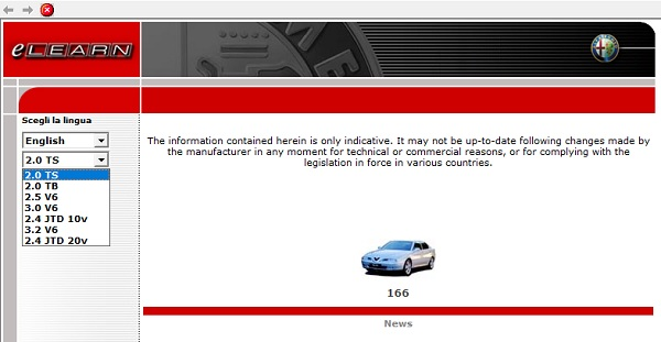 Alfa Romeo 166 service manual